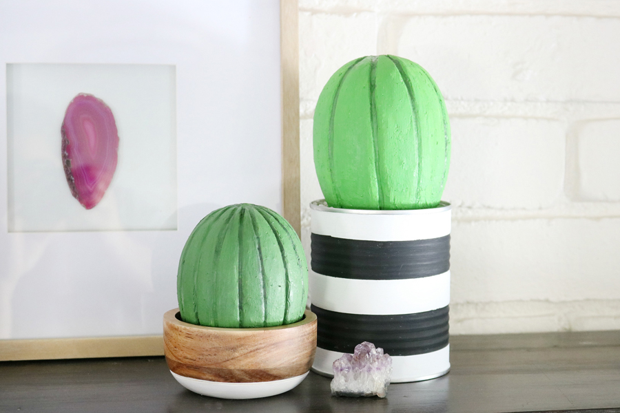 Foam Cactus Decor
