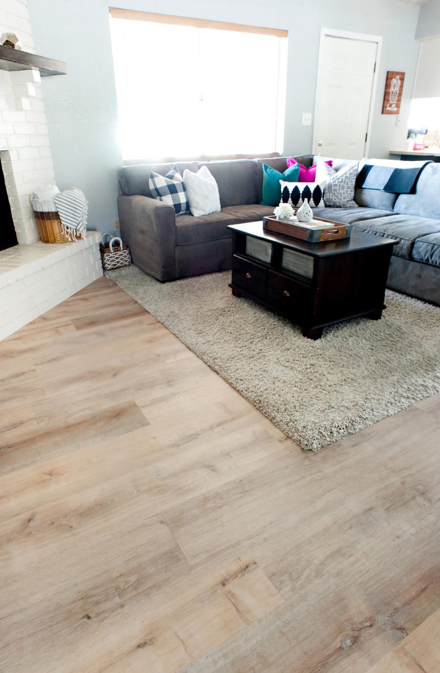 Wood Look Vinyl Plank Flooring From Allure - What to look for in vinyl plank flooring