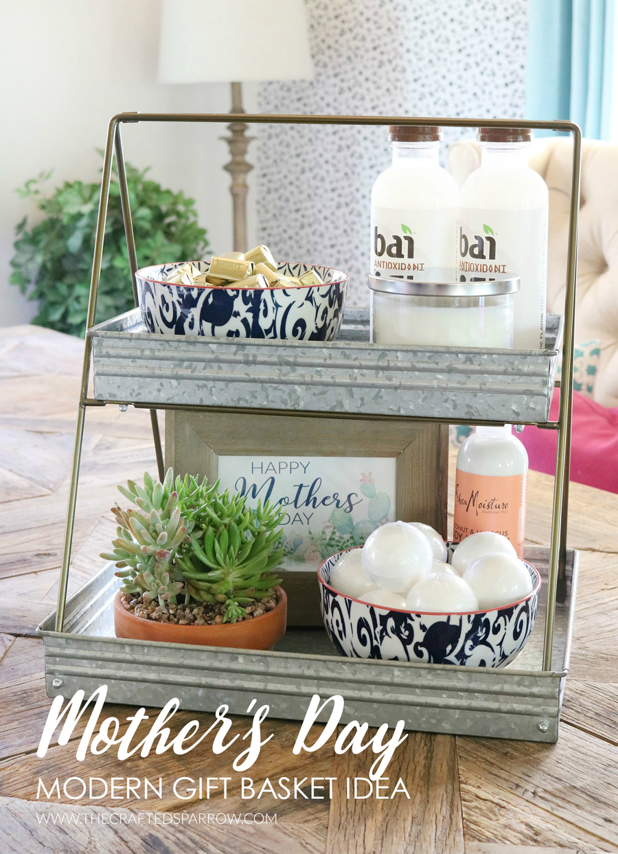 Mother's Day Modern Gift Basket