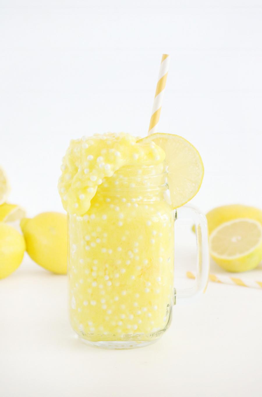 Lemonade Scented Floam Slime