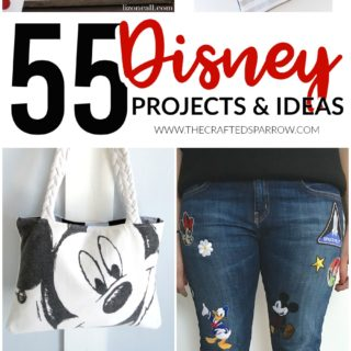 55 DIY Disney Projects & Ideas