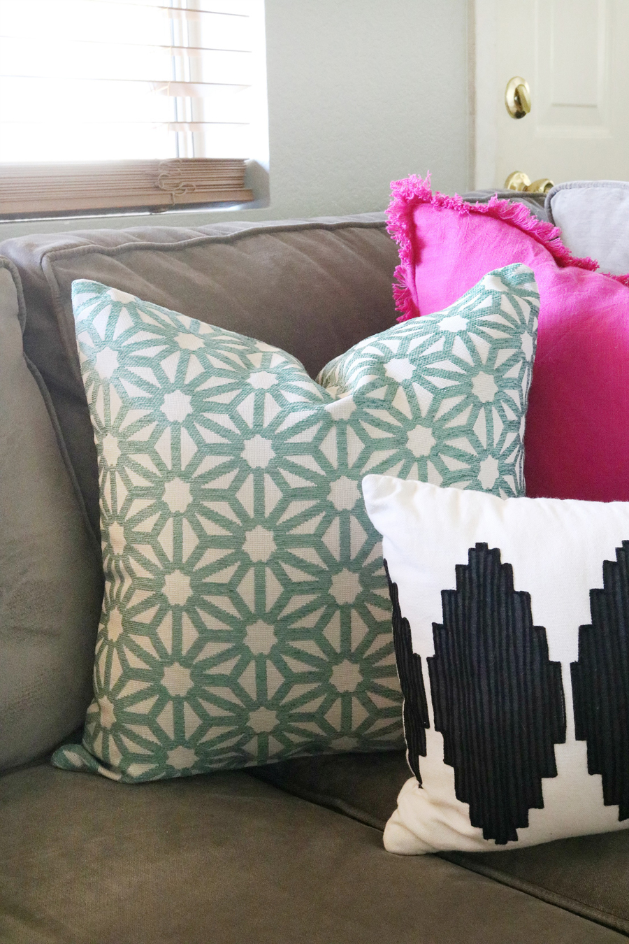Family Room Refresh - BHGLiveBetter Throw Pillow from Walmart