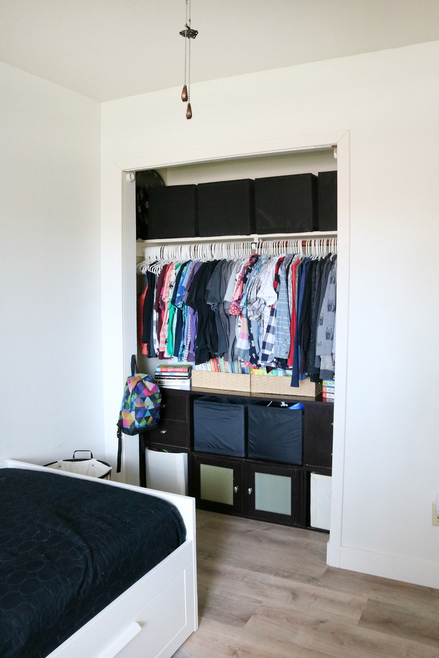 Boy Room Closet Before You Need To See The After