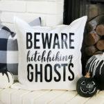 Disney Inspired Haunted Mansion Halloween Pillow