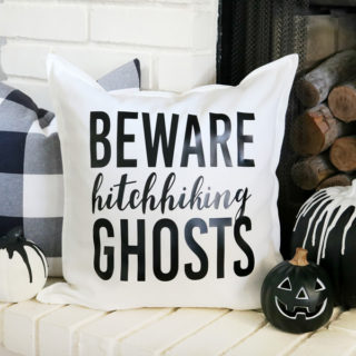 ​Disney Inspired Haunted Mansion Halloween Pillow​