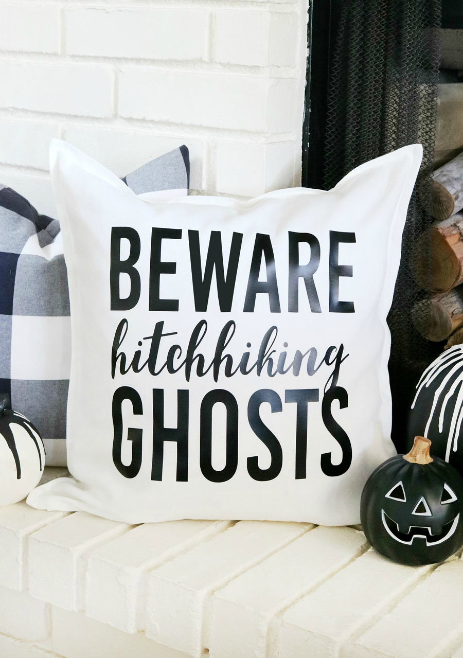 Disney Inspired Haunted Mansion Halloween Pillow