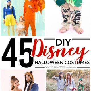 45 DIY Disney Themed Halloween Costumes