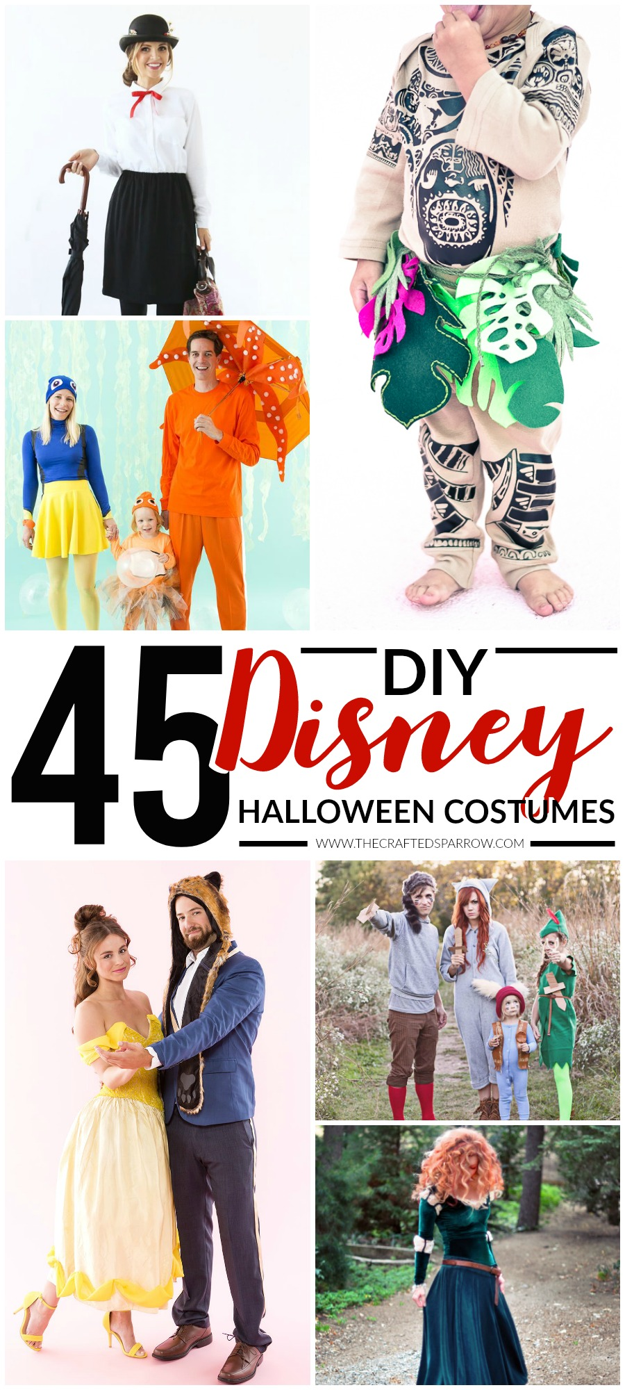 1d8ca7ac7a6 45 DIY Disney Themed Halloween Costumes