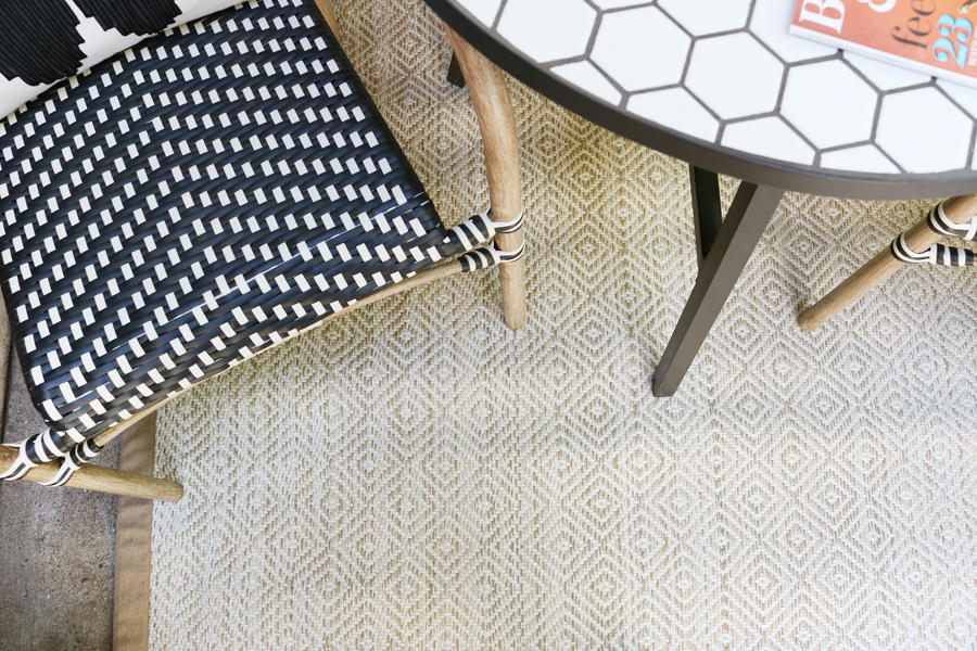 Black & White Fall Porch - BHG Live Better Outdoor Rug