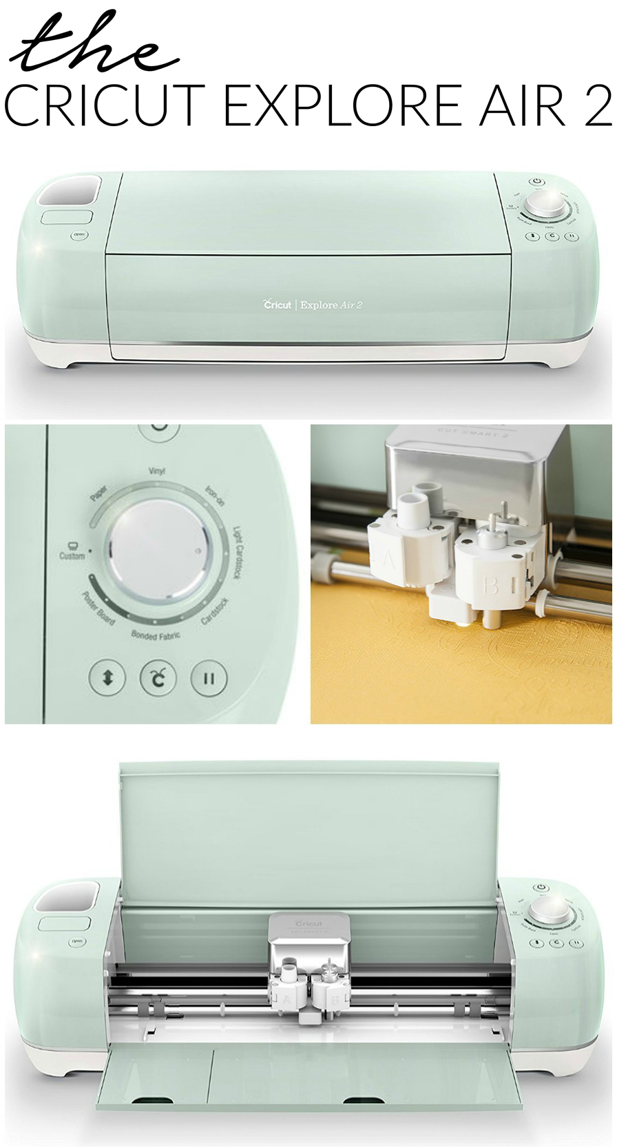 Cricut Maker Vs Cricut Explore Air 2 Cutting Machines