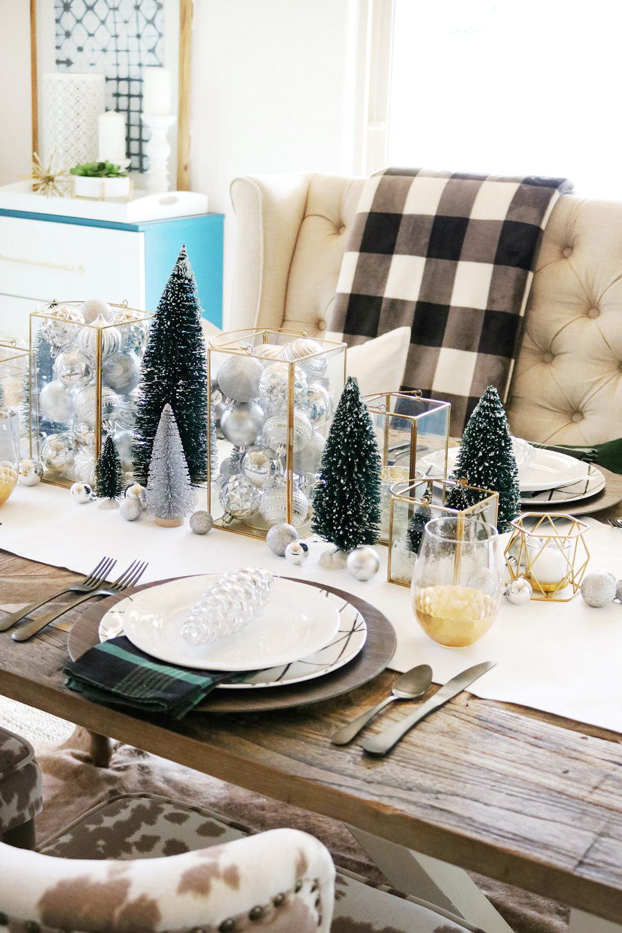 Pleasant Simple Modern Christmas Dining Table Ideas Home Interior And Landscaping Ologienasavecom