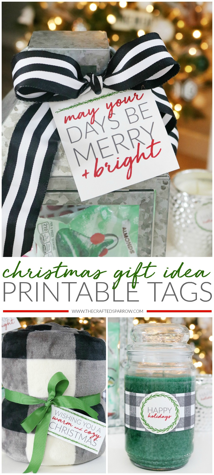 Christmas Gift Idea Printable Tags