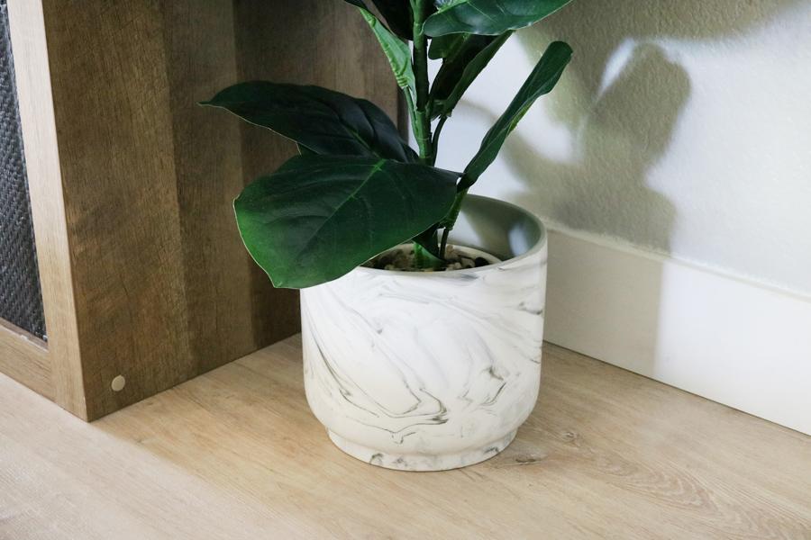 BHG Live Better Marbled Planter