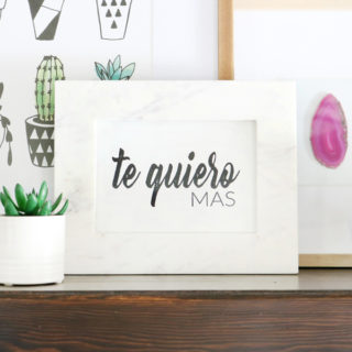 Te Quiero Mas Valentine's Day Printable 4