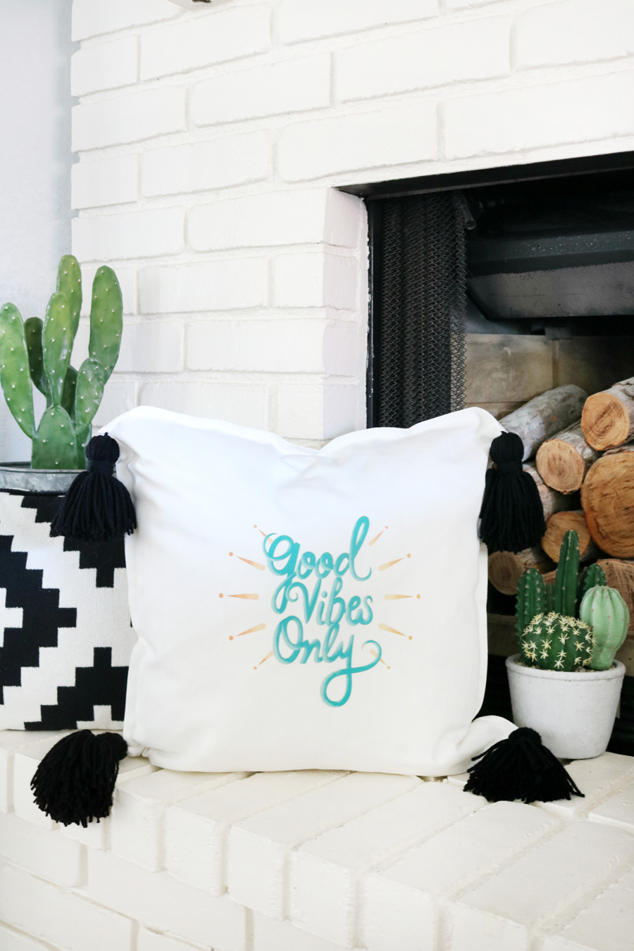 Easy Iron-On Throw Pillow in Under 15 Minutes