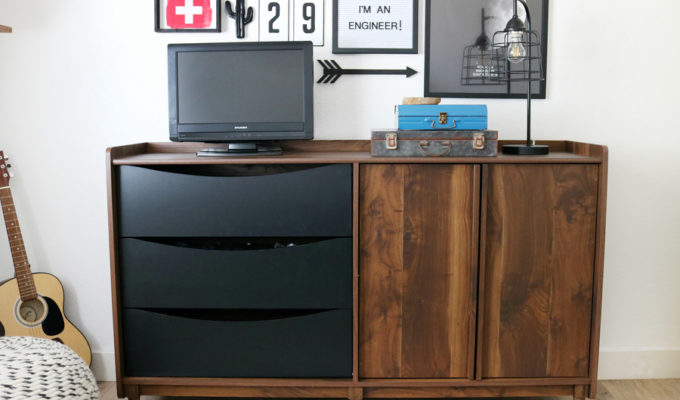 Teen Boy's Room Storage & Decor Ideas