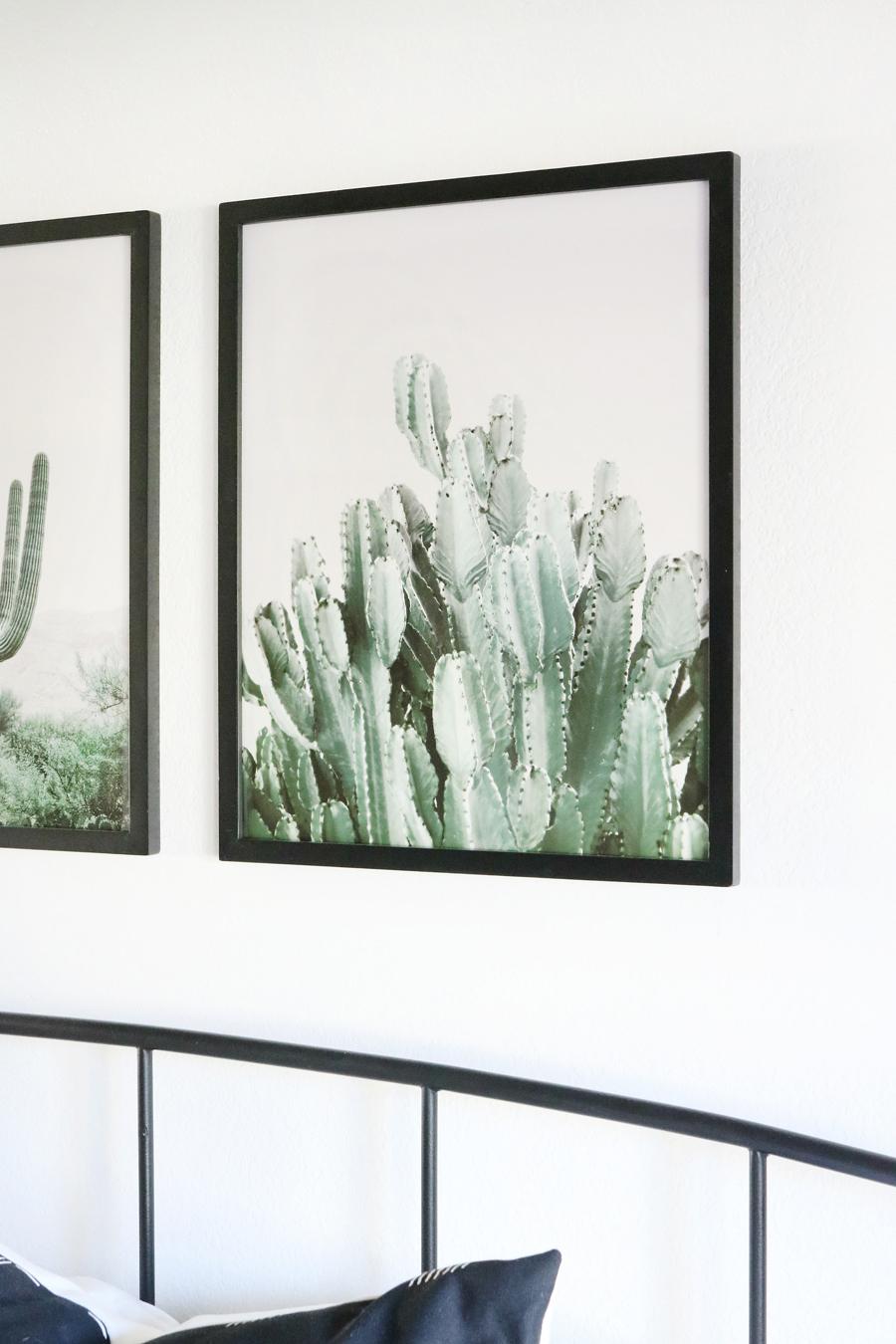 Boho Inspired Artwork with Better Homes & Gardens Black Gallery Wall Frames