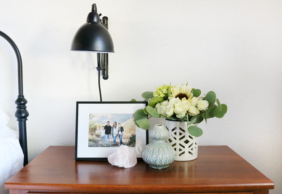 Boho Inspired Nightstand Decor With Better Homes Gardens White And
