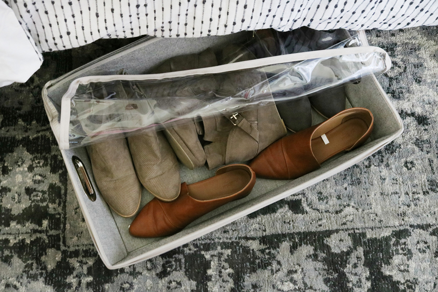 Better Homes & Gardens Rolling Underbed Storage - Perfect for out of season shoes or clothing