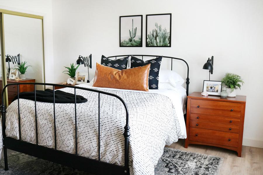 Boho Inspired Bedroom Decor Refresh