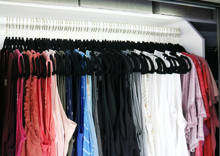One Thing Thatu0027s A Must When You Are Organizing Your Closet Is Organizing  The Clothing By Color And Type.