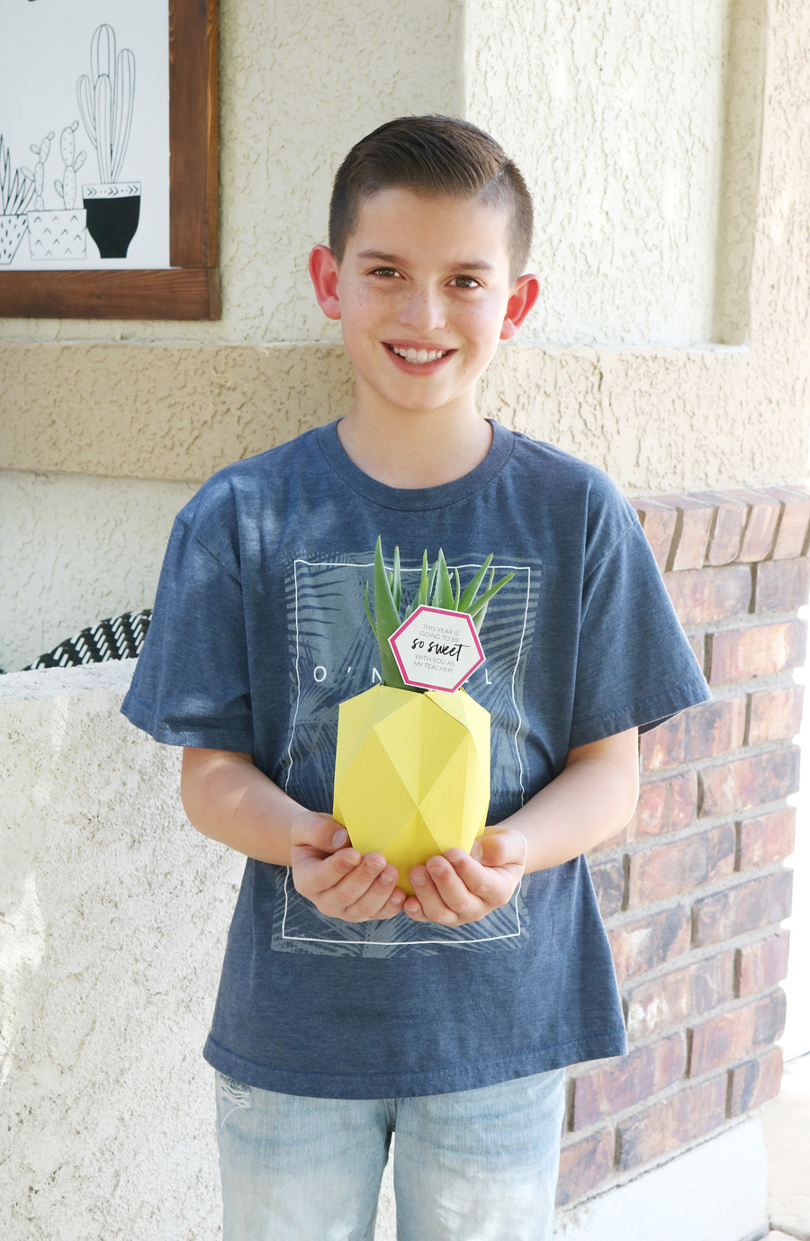 Pineapple Back to School Teacher Gift