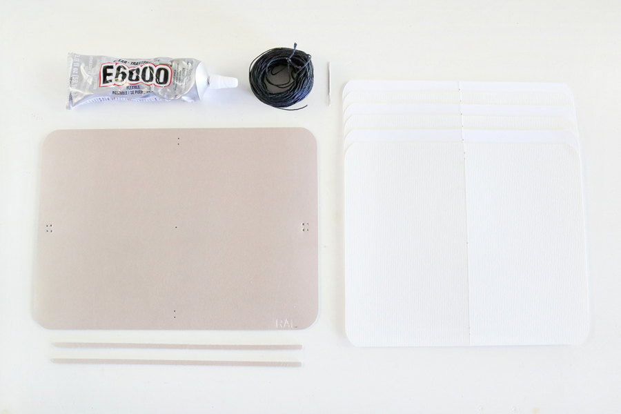 DIY Leather Watercolor Travel Journal How-To
