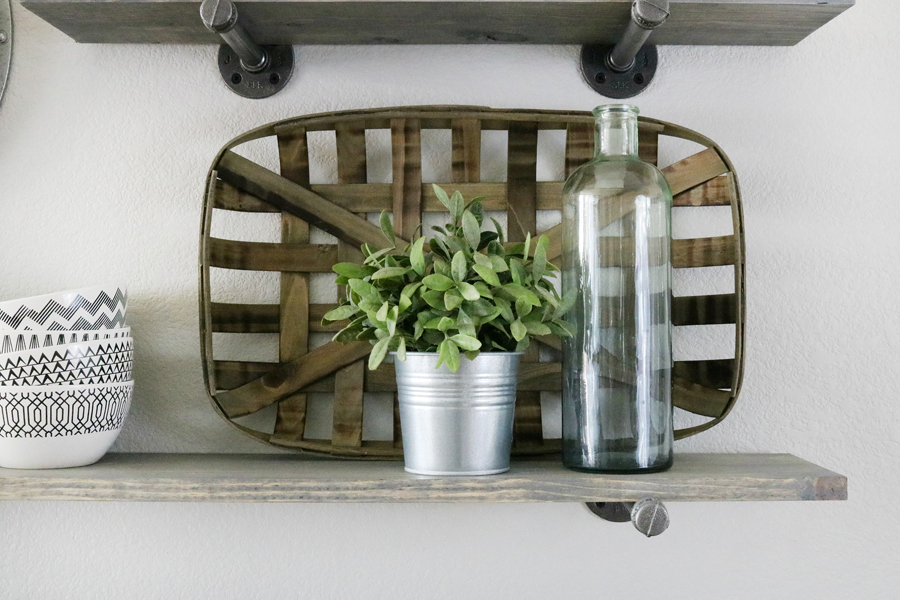 Modern Farmhouse Shelf Decor