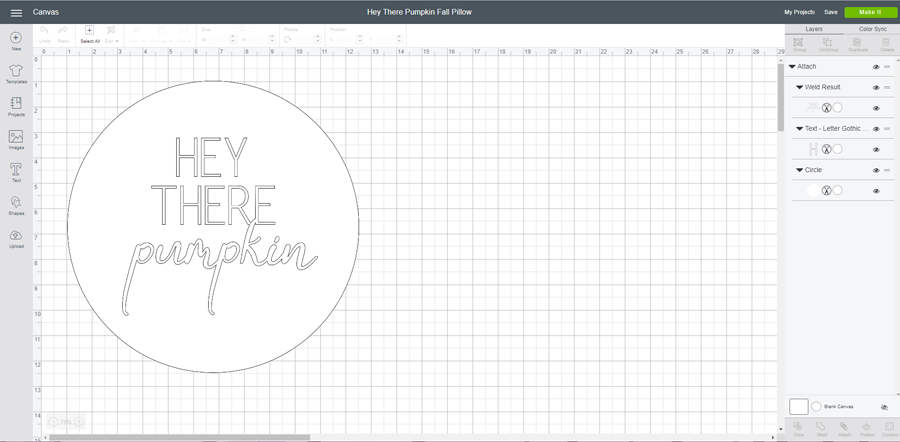 Cricut Design Space 1