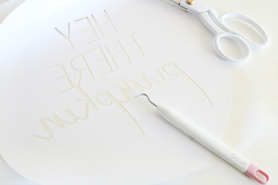 Cricut Iron-On Vinyl Makes for A Quick and Easy DIY Pillow