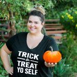 DIY Trick or Treat Yo Self Easy Halloween T-Shirt