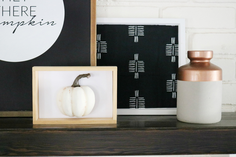 Easy Modern Fall Decor