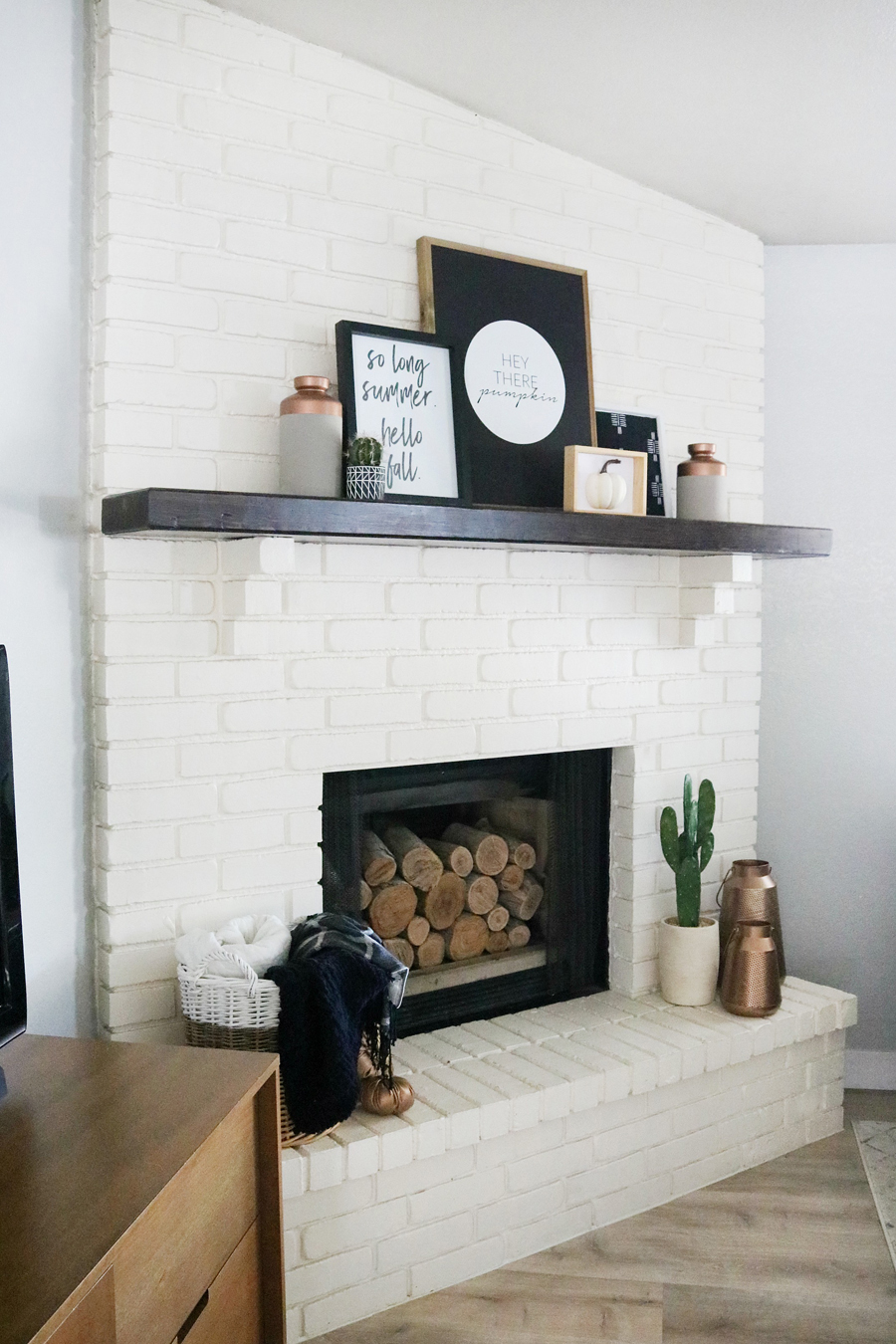 Simple and Easy Modern Fall Decor