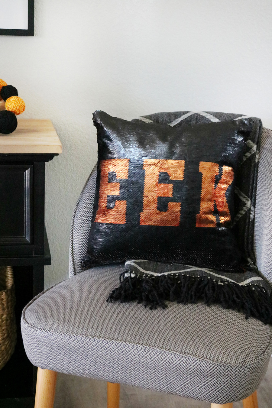 Simple and Cute Halloween Decor from Joann Fabric and Craft Stores