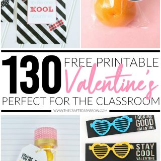 130 Free Printable Valentine's for The Classroom