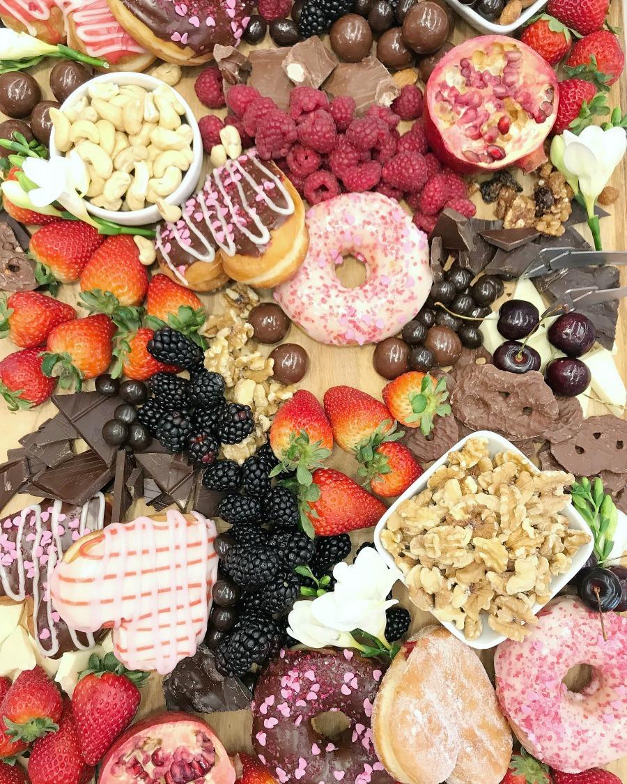 Dunkin Donuts Charcuterie Dessert Board
