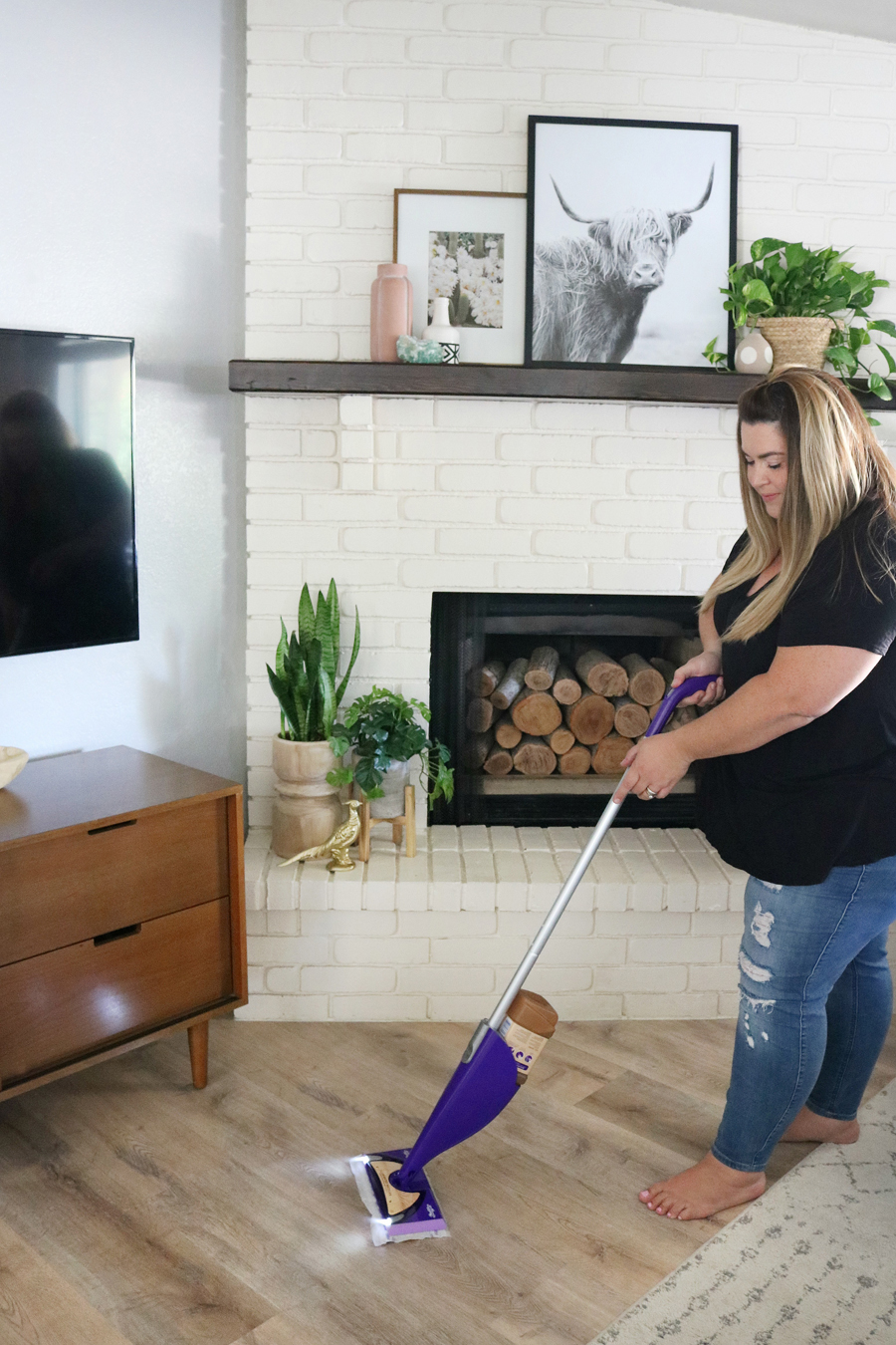 Wood Floor Cleaning Tips with Swiffer WetJet