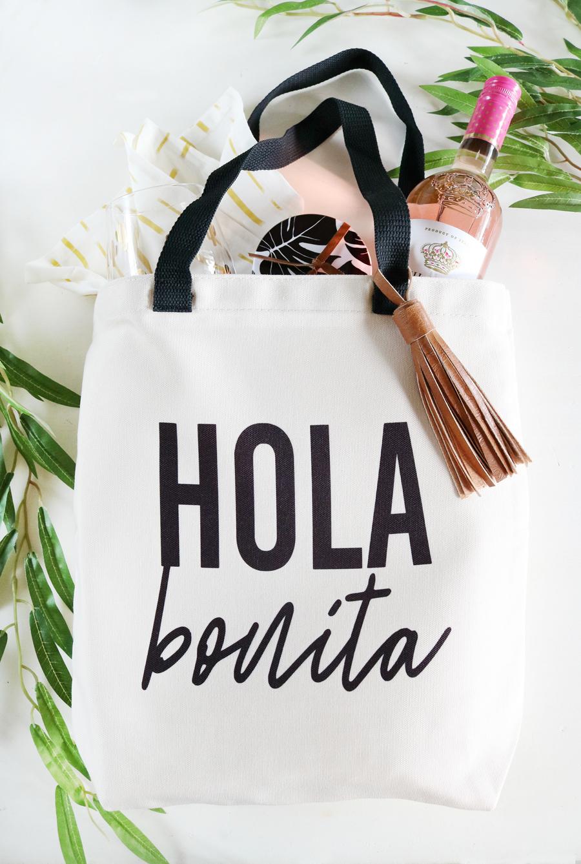 DIY Hola Bonita Tote Bag