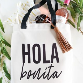 DIY Tote Bag Gift Idea with Cricut Infusible Ink