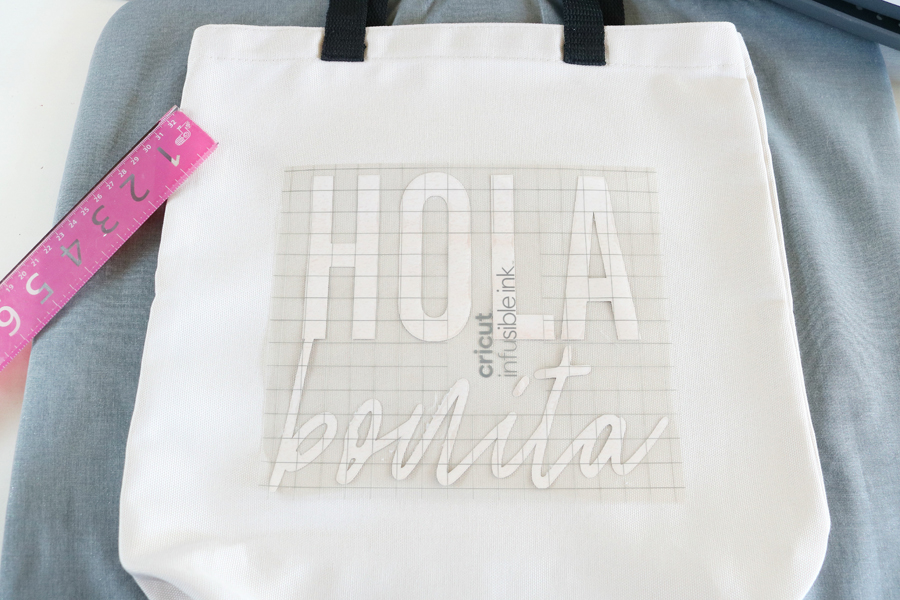 Easy DIY Tote Bag Made with Cricut Infusible Ink