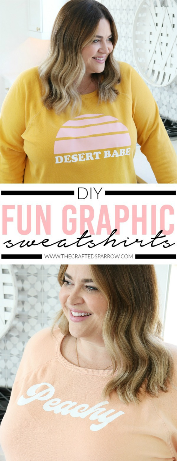 DIY Fun Graphic Sweatshirts