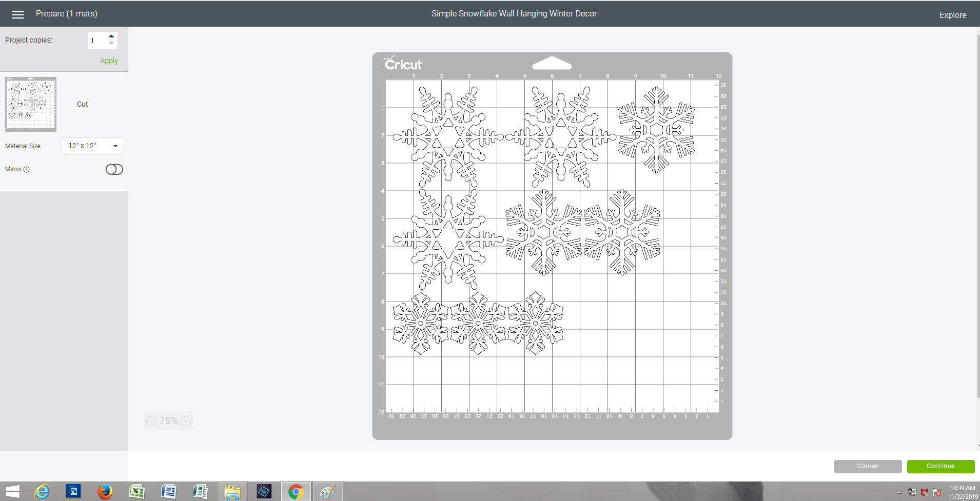 Cricut Screenshot 2