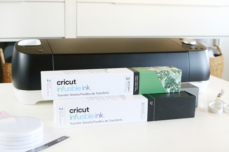 Easy Modern Holiday Coasters Gift Idea with Cricut Infusible Ink