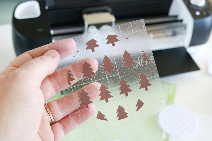 Modern Christmas Coasters with Infusible Ink