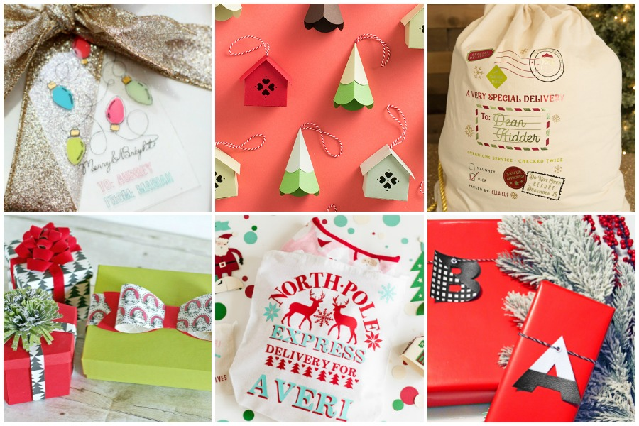 Cricut Gift Wrapping Ideas