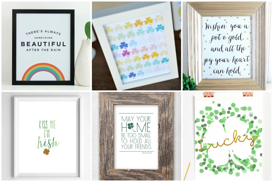 30 Free Printable St. Patrick's Day Signs