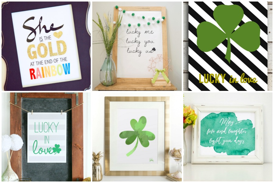 30 Free St. Patrick's Day Art Printables
