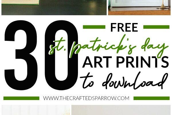 30 Free St. Patrick's Day Art Prints To Download