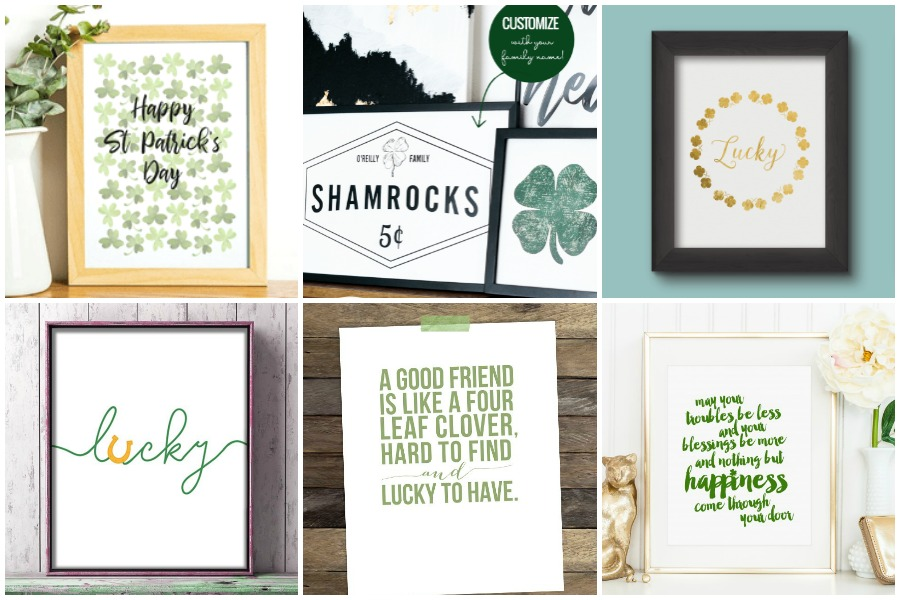 30 Free St. Patrick's Day Printables