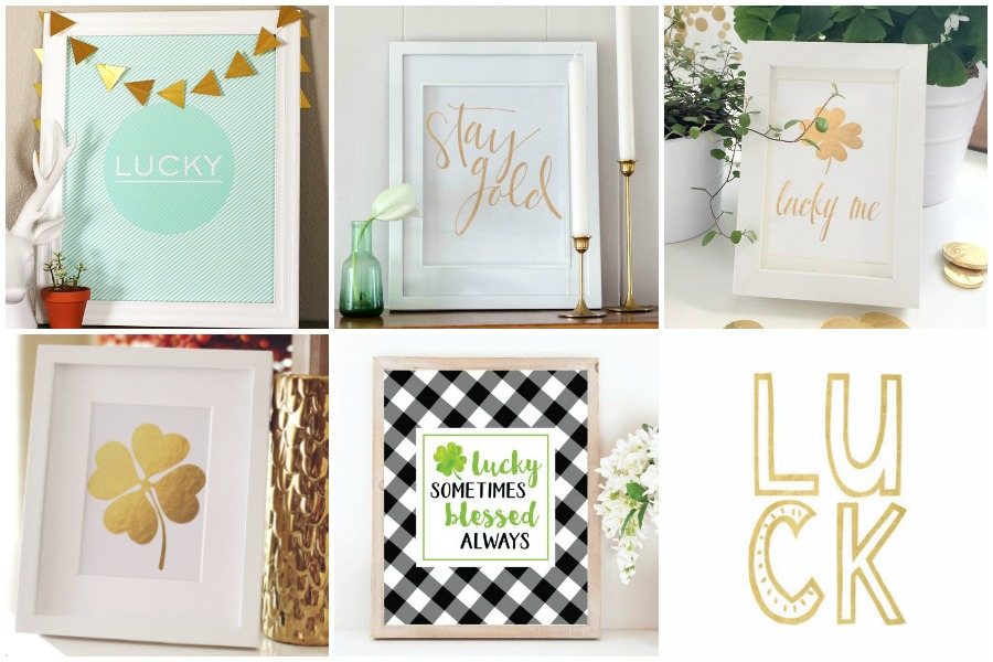 30 St. Patrick's Day Printables